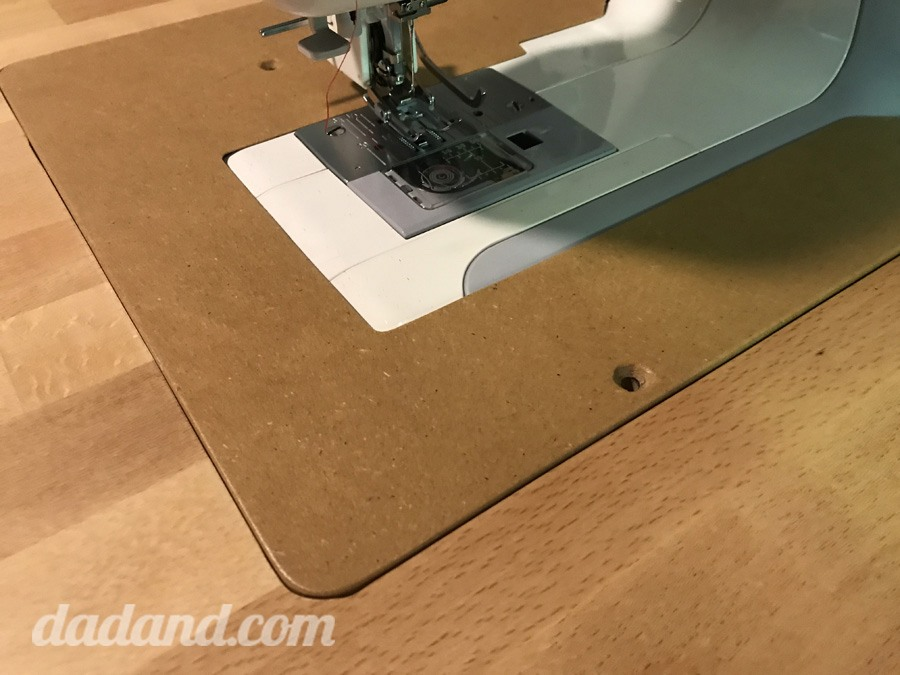 Spray Lacquer Over MDF For The DIY Sewing Table Extension Insert