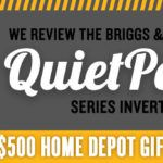 Be Prepared for Power Loss—the Briggs & Stratton Q6500 QuietPower Series Inverter Generator
