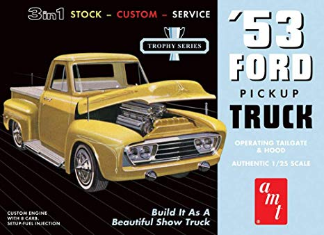 Dads might want an AMT model kit for Fathers Day like this 1953 Ford pickup